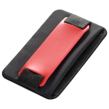 モバイルバンド カードポケット付き レッド [品番]03-0488