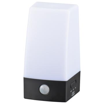 LEDセンサーライト 乾電池式 置き型 [品番]06-0144
