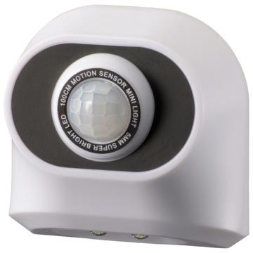 monban センサーミニライト 白色LED ホワイト [品番]06-4285