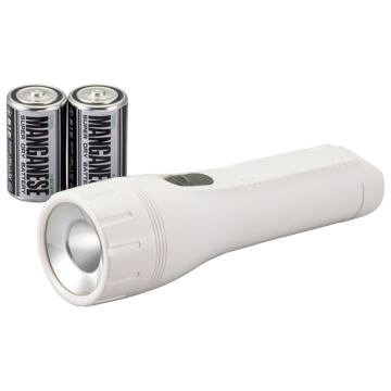 LED懐中ライト 72lm 乾電池付き [品番]08-0868