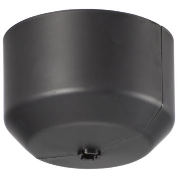 開閉式シーリングカバー 照明用 角丸兼用 黒 [品番]09-2294