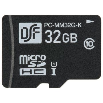 マイクロSDメモリーカード 32GB 高速データ転送 [品番]01-0756