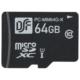 マイクロSDメモリーカード 64GB 高速データ転送 [品番]01-0757