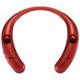 AudioComm Bluetoothネックイヤホン&スピーカー レッド [品番]03-0997