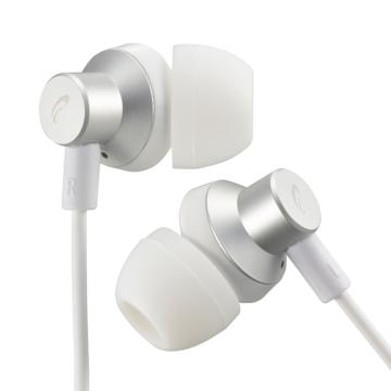 AudioComm ステレオインナーホン シルバー [品番]03-2391