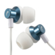 AudioComm ステレオインナーホン ブルー [品番]03-2394