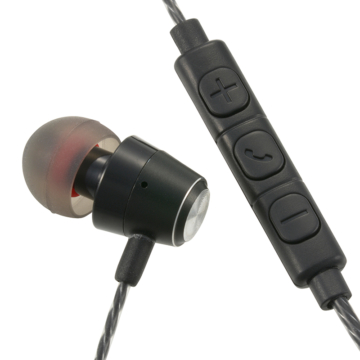 AudioComm シングルインナーホン ブラック [品番]03-2432