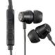 AudioComm スマホ対応ステレオインナーホン ブラック [品番]03-2482