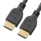 HDMIケーブル 4Kプレミアム 1m やわらかスリムタイプ [品番]05-0551