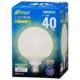 LED電球 ボール電球形 E26 40形 昼白色 全方向 [品番]06-4395