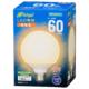 LED電球 ボール電球形 E26 60形 電球色 全方向 [品番]06-4397