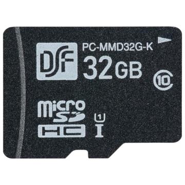高耐久マイクロSDメモリーカード 32GB [品番]01-3058