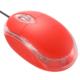 光学式マウス レッド [品番]01-3928