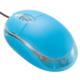 光学式マウス ブルー [品番]01-3929