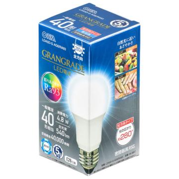 LED電球 E26 40形相当 昼光色 [品番]06-3857