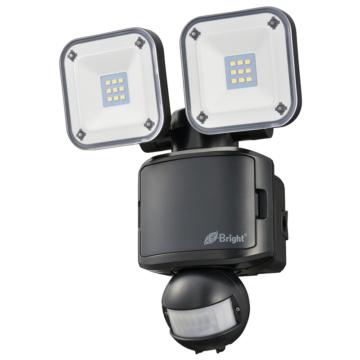 E-Bright LEDセンサーライト 乾電池式 2灯 [品番]06-4239