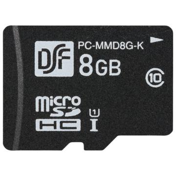 高耐久マイクロSDメモリーカード 8GB [品番]01-3056