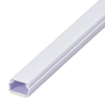 テープ付きABSモール 1号 1m ホワイト [品番]00-9513