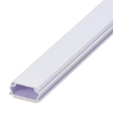 テープ付きABSモール 2号 1m ホワイト [品番]00-9514