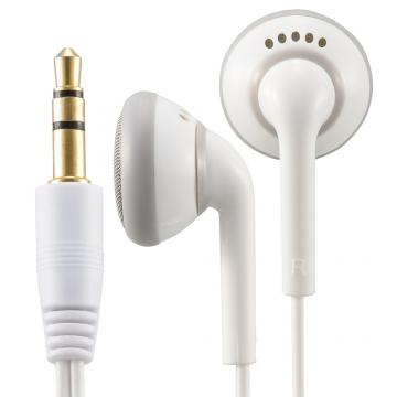 AudioComm ステレオインナーホン ホワイト 1.2m [品番]03-1265