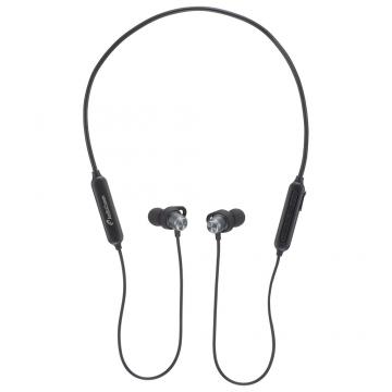 AudioComm ワイヤレスネックバンドイヤホン ブラック [品番]03-1294