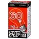 白熱電球 E26 60W形 クリア [品番]06-0595