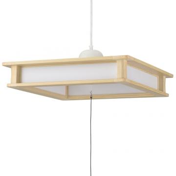 LED和風ペンダントライト 12畳用 昼光色 [品番]06-3876