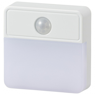 LED明暗人感センサー式ナイトライト 室内用 [品番]06-0148