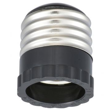 口金変換ソケットアダプター E26/E17 [品番]00-7053