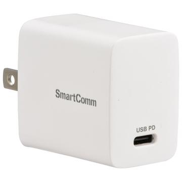 SmartComm USB急速充電 TypeC マルチ電圧 PD20W [品番]03-3100