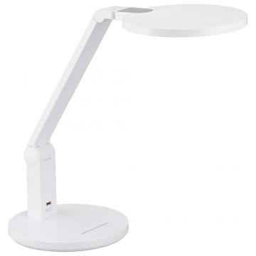LEDデスクランプ ブルーライトカット ホワイト [品番]06-3836