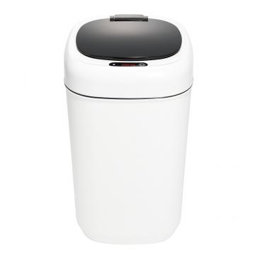 センサー付き電子ペール 9L ホワイト [品番]09-0120