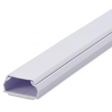 テープ付ABSモール3号 1m ホワイト [品番]00-9516