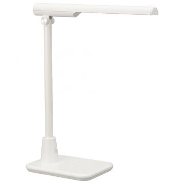 LEDコンパクト型学習スタンド 昼白色 ホワイト [品番]06-3763