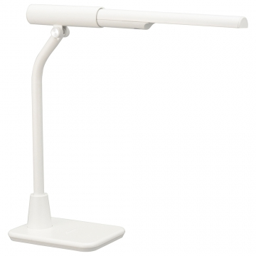 LED充電式学習スタンド マグネット着脱式 昼白色 ホワイト [品番]06-3767