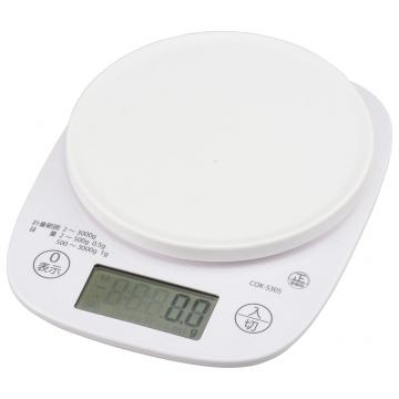 クッキングスケール 3kg 抗菌仕様 [品番]07-8918