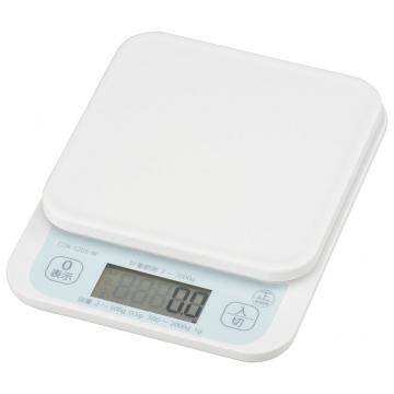クッキングスケール 2kg 抗菌仕様 [品番]07-8921